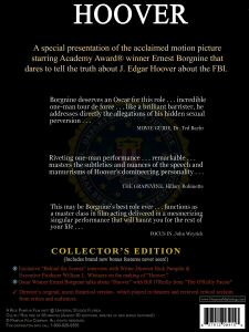 Hoovers DVD - back cover