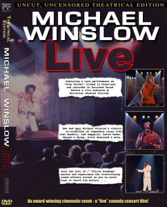 Michael Winslow Live DVD cover